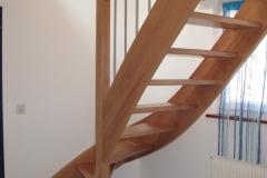 Escalier en hètre