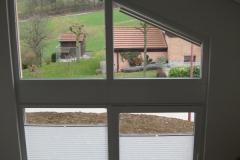 Fenêtres pvc coulissante blanche