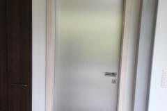 Porte plaquée inox
